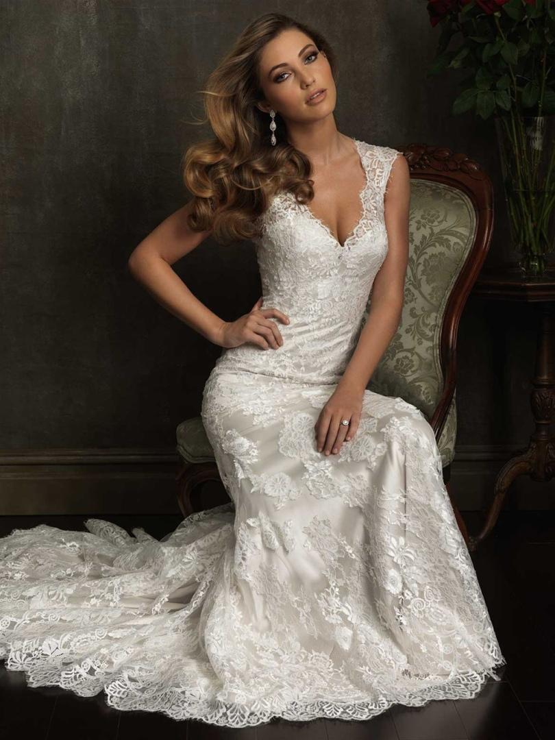 b7daaeede7e Прокат свадебного платья в Москве Allure Bridals 9068 — 10.700 ...